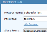 mHotspot 3.0.0.0 screenshot