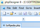 phpDesigner Portable 7.2.5 screenshot