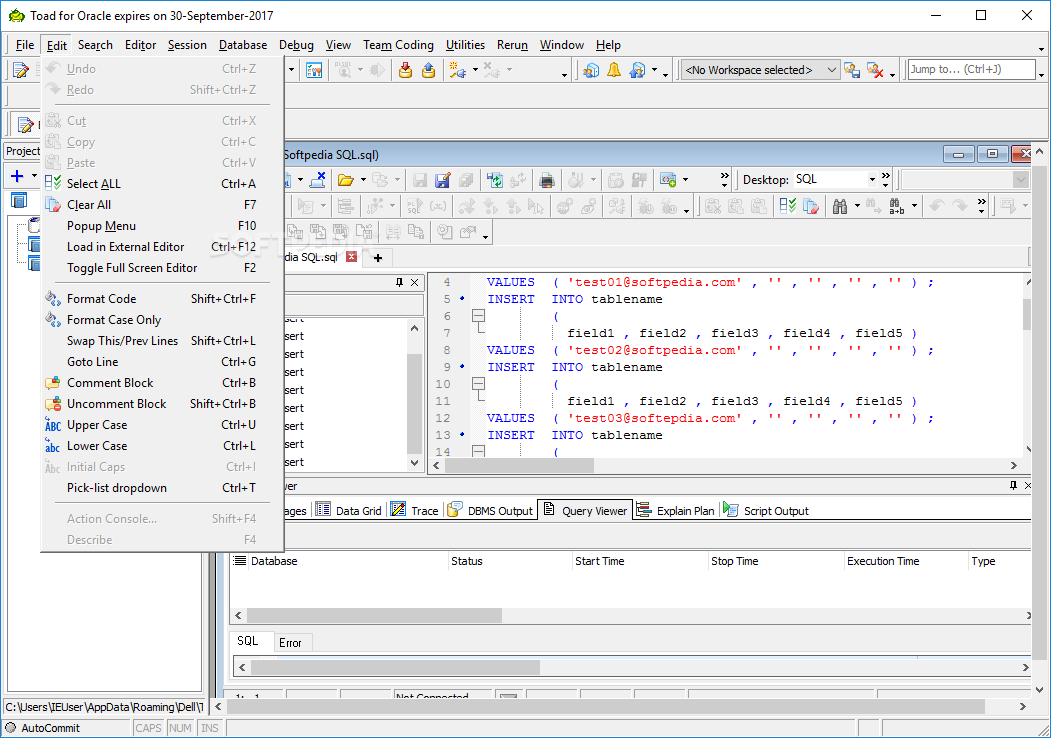 Serial toad for oracle 13 | Download TOAD for Oracle 13 1 1 5  2019