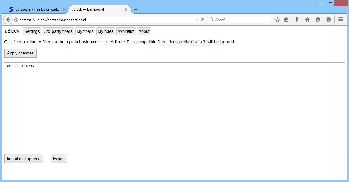 Download uBlock 0 9 5 19 Chrome / 0 9 5 19 Firefox
