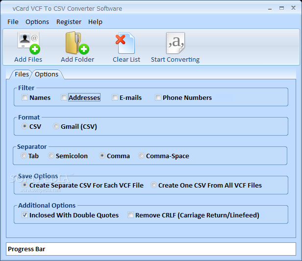 Download vCard VCF To CSV Converter Software 7 0