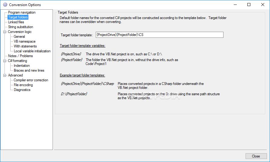 Download VB Net to C# Converter 5 07