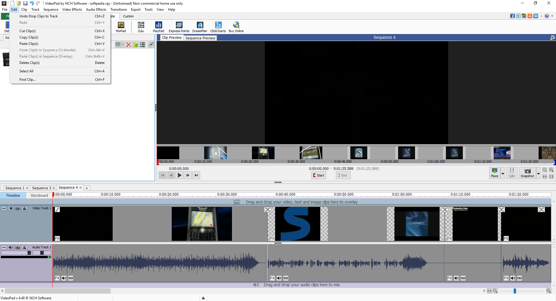 VideoPad Video Editor Pro 8.13 Free Include Activation
