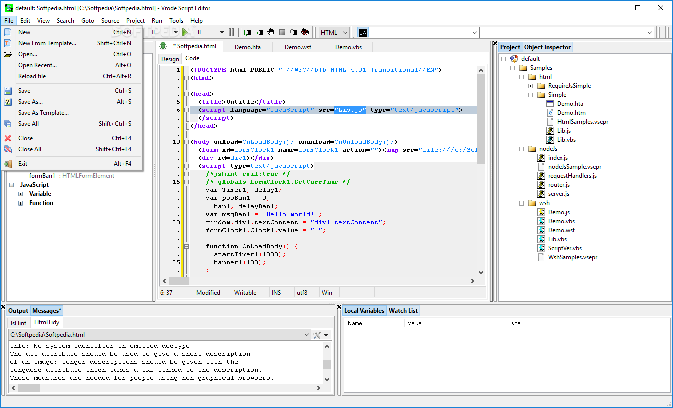 Download Vrode Script Editor 6 9 4