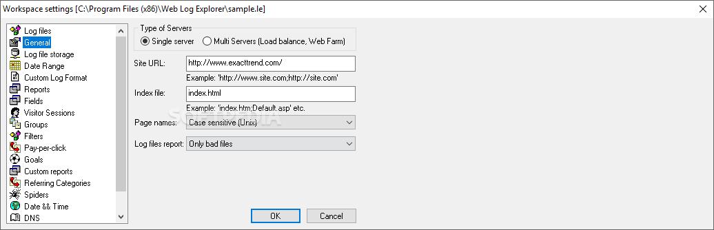 Download Web Log Explorer Enterprise 9 3 Build 1389