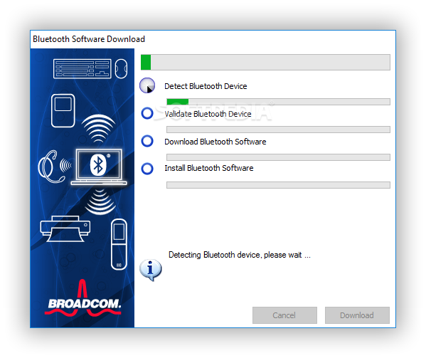 Download WIDCOMM Bluetooth Software