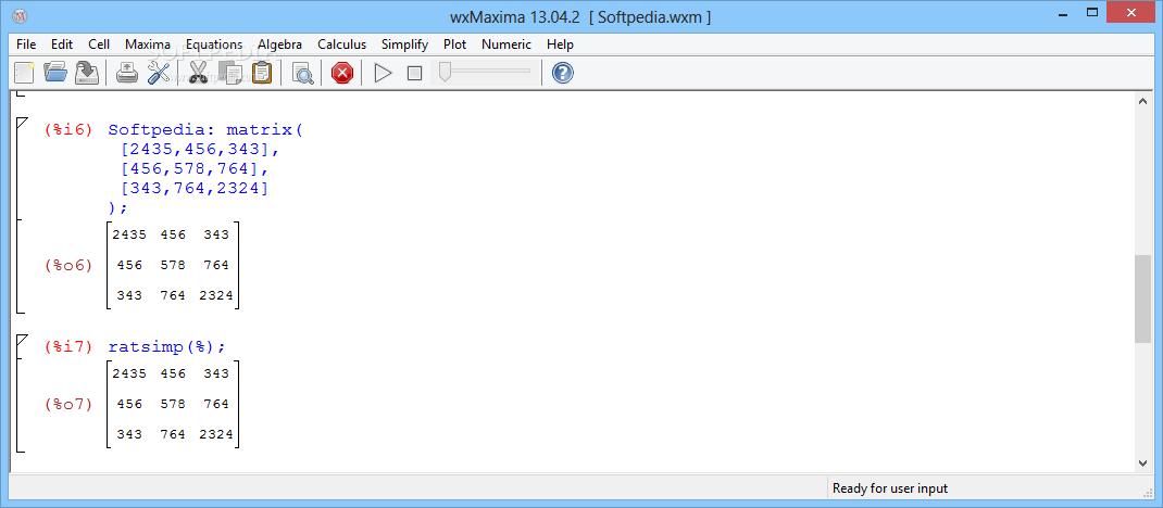 Download wxMaxima 13 04 2