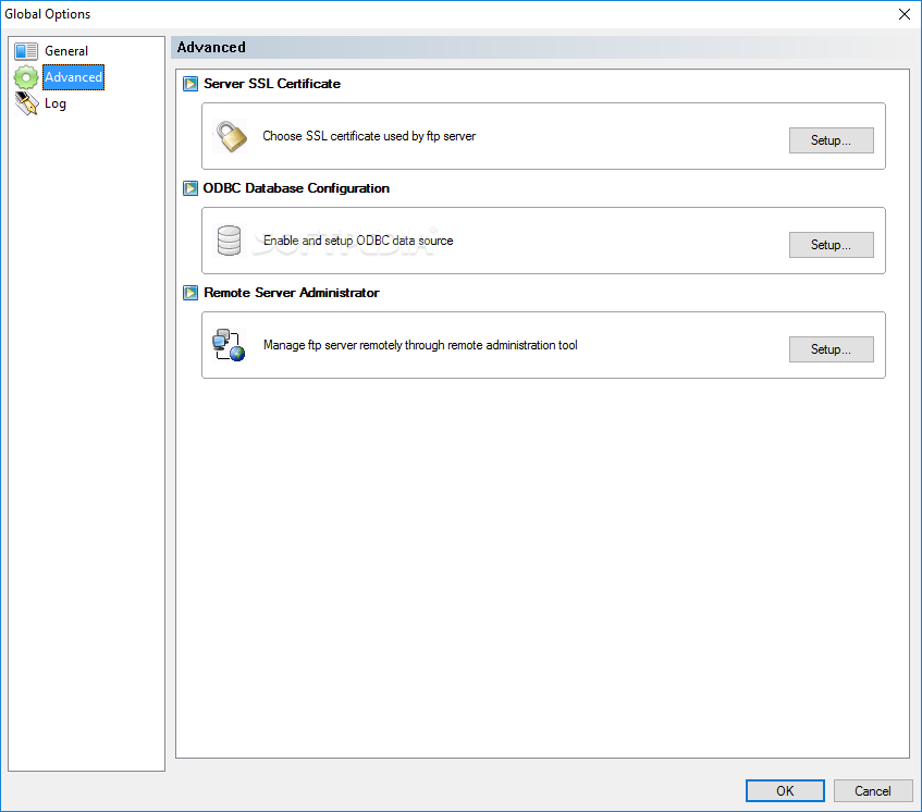 xlight ftp server configuration