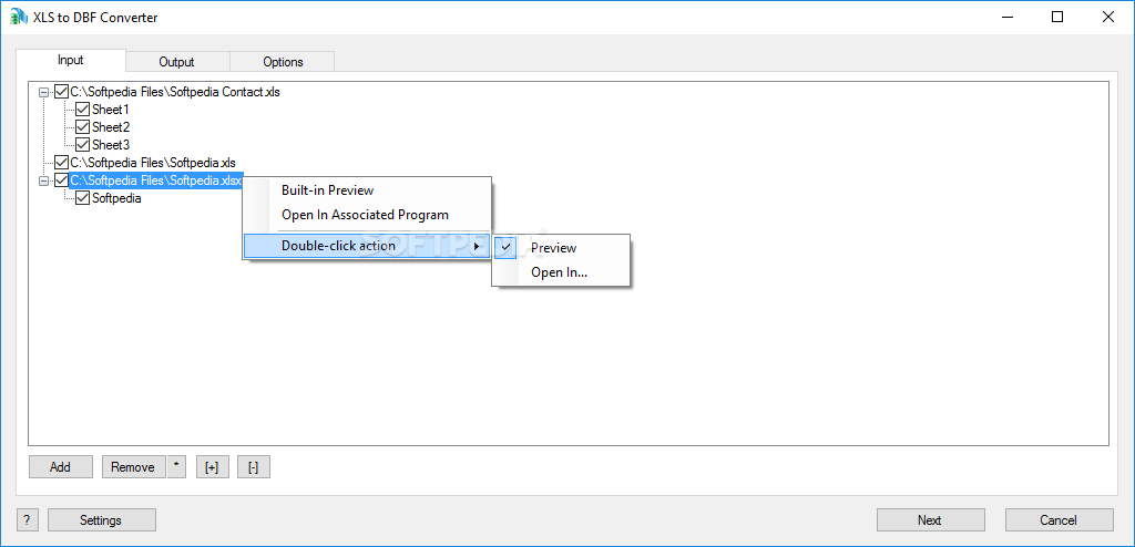 Download XLS to DBF Converter 3 48